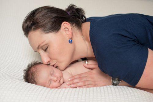 maminka na mateřské