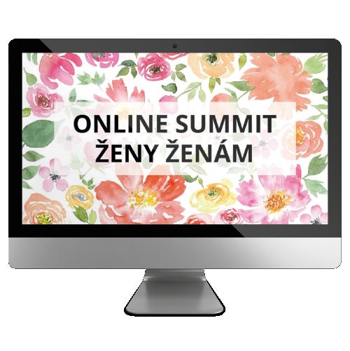 Online summit - Ženy ženám