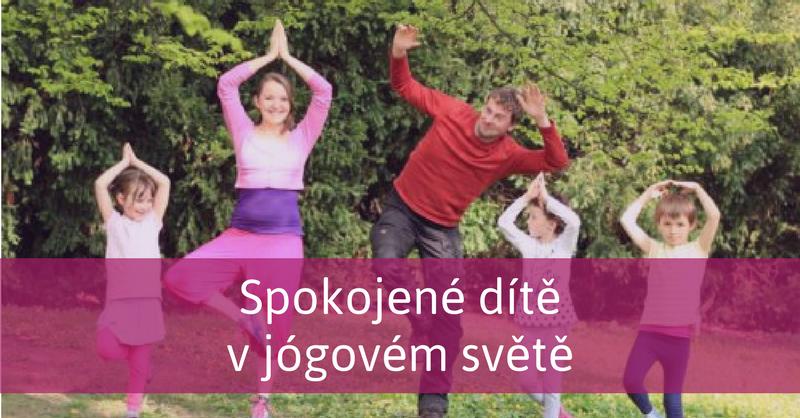 rodinka cvičí jógu