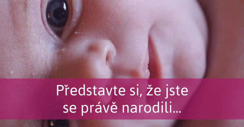 novorozené dítě