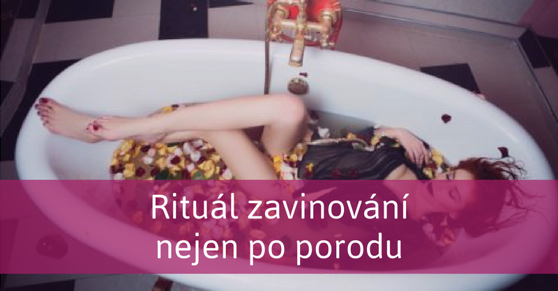 žena ve vaně