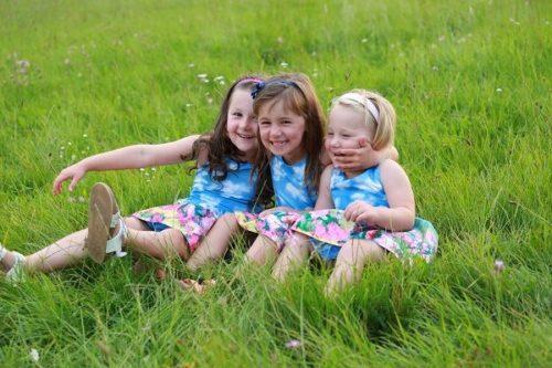 spokojené dcerky