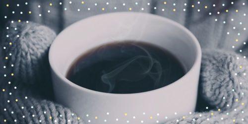 vychutnat si kávu na mateřské