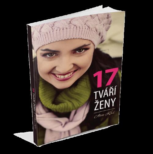 kniha 17 tváří ženy - autorka Alice Kirš